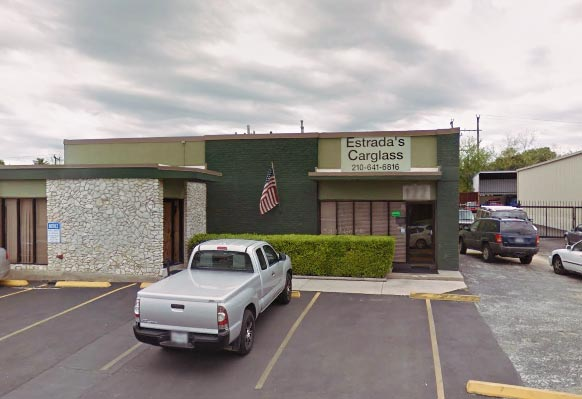 Estrada's Carglass - Our location